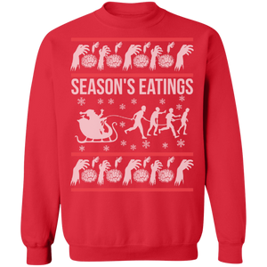 Season's Eatings Adult Ugly Christmas Sweater