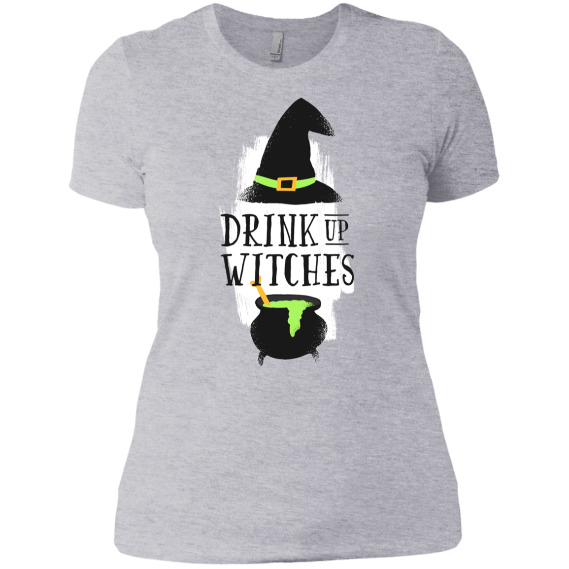 Drink Up Witches Boyfriend T-Shirt - [evil-amy-s-terror-shop]