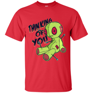Thinking Of You Voodoo Doll T-Shirt - [evil-amy-s-terror-shop]