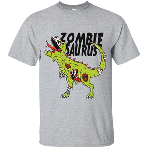 Zombie Saurus Youth T-Shirt - [evil-amy-s-terror-shop]