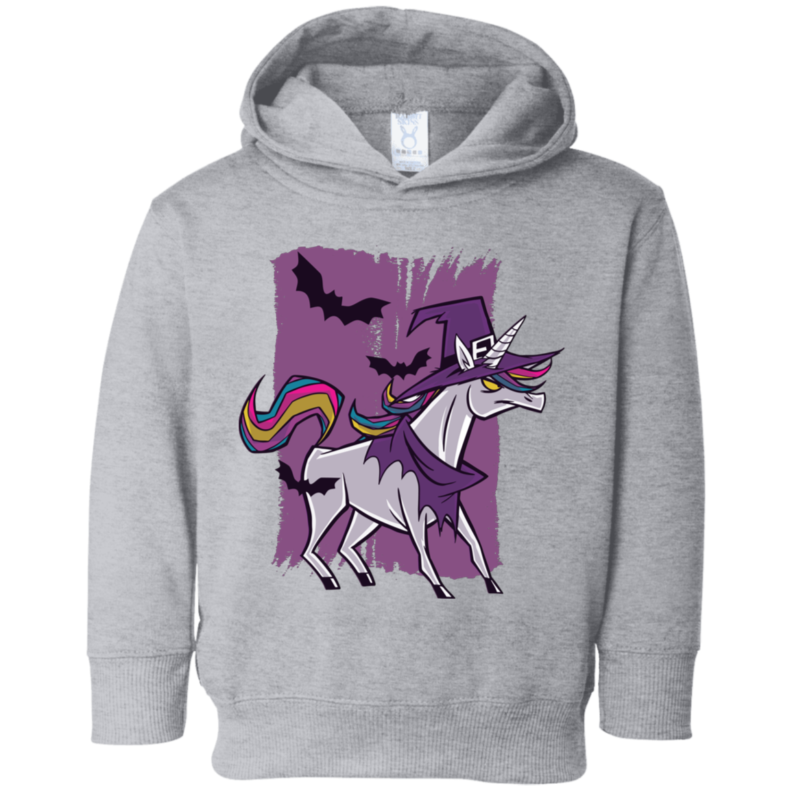 Witch Unicorn Toddler Fleece Hoodie - [evil-amy-s-terror-shop]