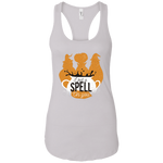 I Put A Spell On You  Racerback Tank Top - [evil-amy-s-terror-shop]