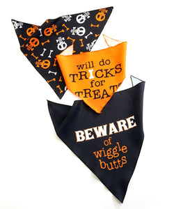 Fabric Dog Bandana,  Small Size