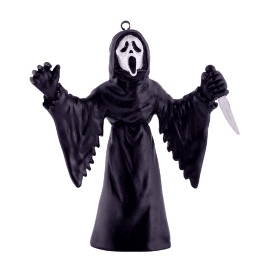 Ghost Face Standing Ornament