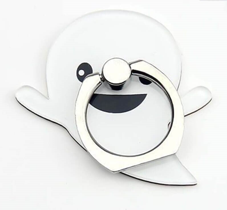 Ghost Finger Ring Phone Holder Stand Cute Halloween Cartoon