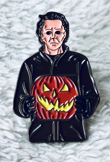 Mike Myers Halloween Enamel Pin - [evil-amy-s-terror-shop]