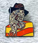 Nightmare On Elm Street Freddy Kreuger Enamel Pin - [evil-amy-s-terror-shop]