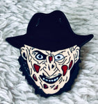 Nightmare On Elm Street Freddy Kreuger Face Enamel Pin - [evil-amy-s-terror-shop]