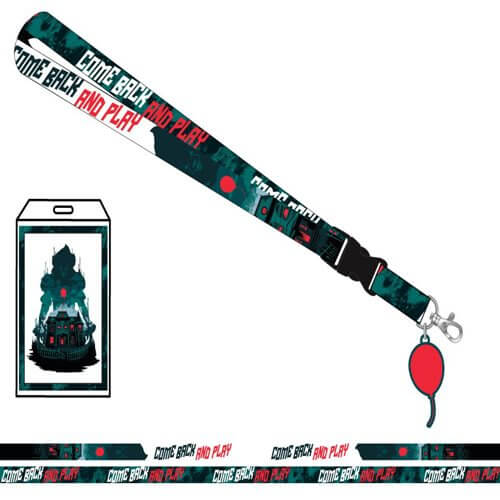It Standard Lanyard with Sticker