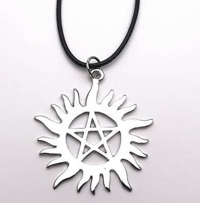 Supernatural Star Pendant - [evil-amy-s-terror-shop]