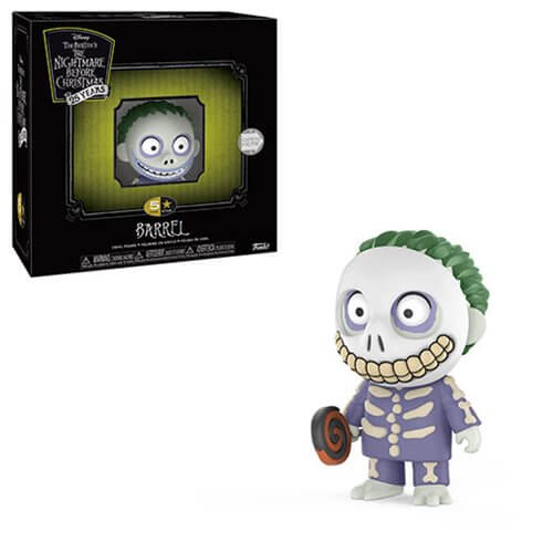 The Nightmare Before Christmas Barrel 5 Star Vinyl Figure - [evil-amy-s-terror-shop]