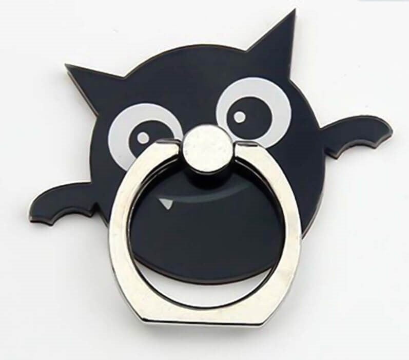 Bat Finger Ring Phone Holder Stand Cute Halloween Cartoon