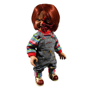 Child's Play Pizza Face Chucky Talking Mega-Scale 15-Inch Doll - [evil-amy-s-terror-shop]
