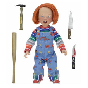 Child's Play Chucky 8-Inch Cloth Retro Action Figure - [evil-amy-s-terror-shop]