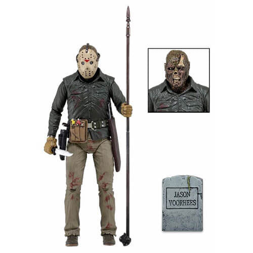 Friday the 13th Part VI: Jason Lives Scale Action Figure - [evil-amy-s-terror-shop]