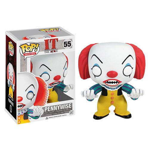 Stephen King's It Pennywise Clown Pop! Vinyl Figure - [evil-amy-s-terror-shop]