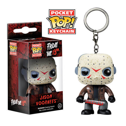 Friday the 13th Jason Voorhees Pop! Vinyl Figure Key Chain - [evil-amy-s-terror-shop]