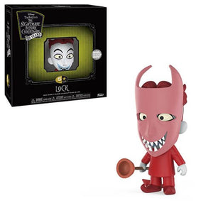 The Nightmare Before Christmas Lock 5 Star Vinyl Figure - [evil-amy-s-terror-shop]