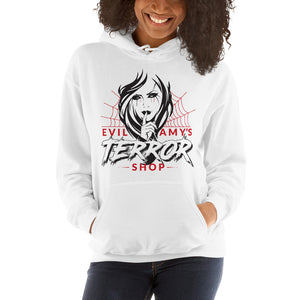 Evil Amy's Terror Shop Hooded Sweatshirt - [evil-amy-s-terror-shop]