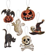 Halloween Wooden Ornaments - [evil-amy-s-terror-shop]