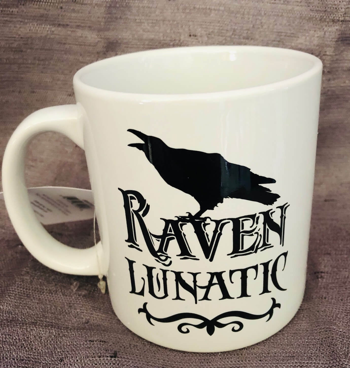 Raven Lunatic Mug - [evil-amy-s-terror-shop]