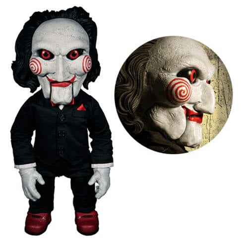 Saw Billy Mega-Scale with Sound 15-Inch Doll - [evil-amy-s-terror-shop]