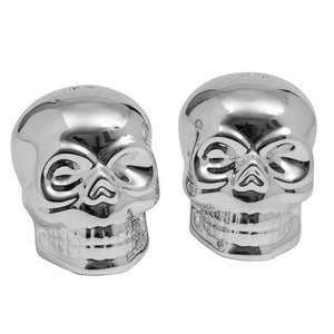 Skull Salt and Pepper Shakers - [evil-amy-s-terror-shop]