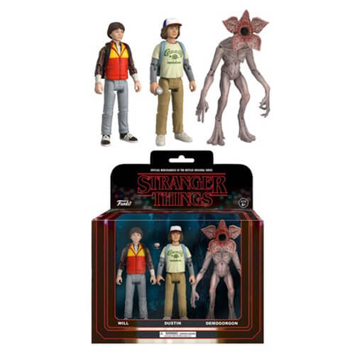 Stranger Things Action Figure 3-Pack - [evil-amy-s-terror-shop]