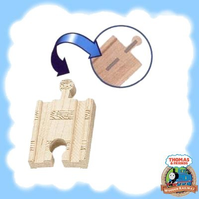 "Thomas & Friends Wooden 2"" STRAIGHT TRACK PACKS"