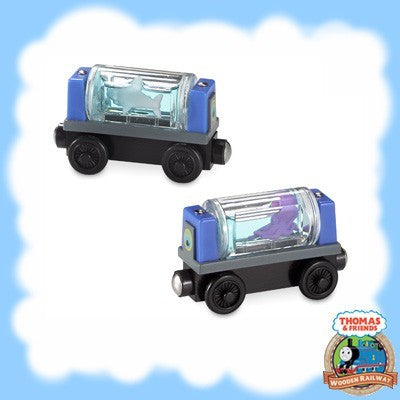 Thomas & Friends Wooden Railway AQUARIUM CARS - Y5024
