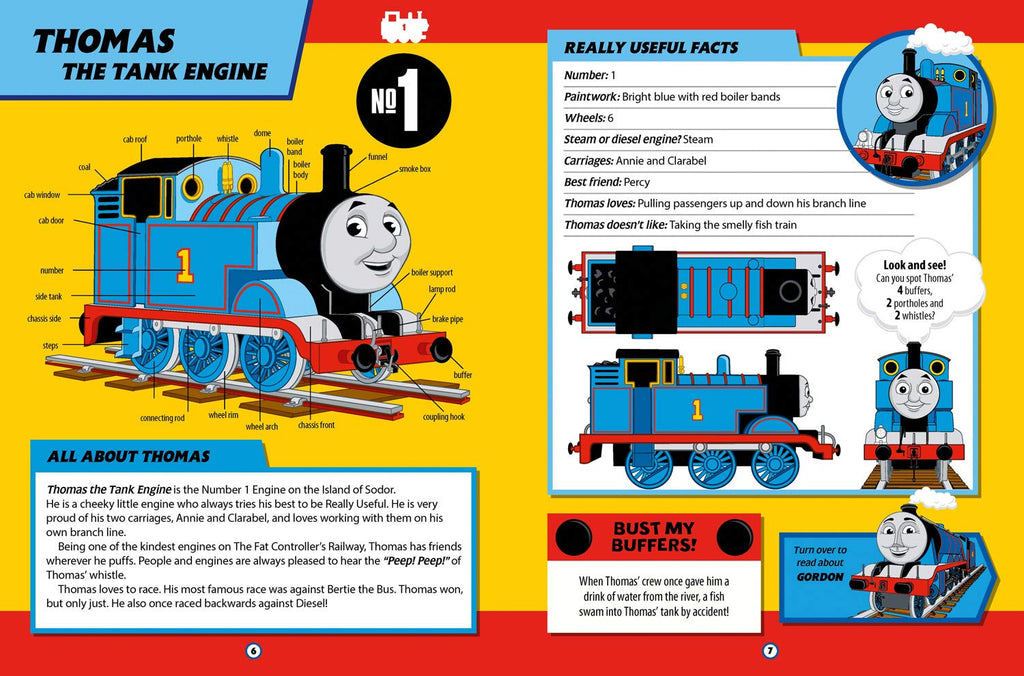 THOMAS & FRIENDS: THE BIG BOOK OF ENGINES: 75TH ANNIVERSAY EDITION