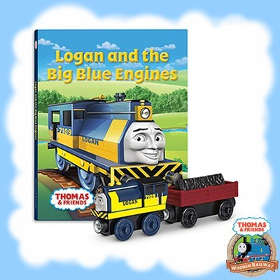 LOGAN AND THE BIG BLUE ENGINE BOOK PACK - CCX64