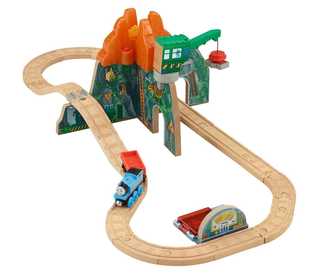 Thomas Wooden Railway VOLCANO PARK DELUXE SET - CDK48