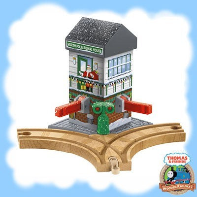 Thomas & Friends Wooden CHRISTMAS CROSSING - CMX15