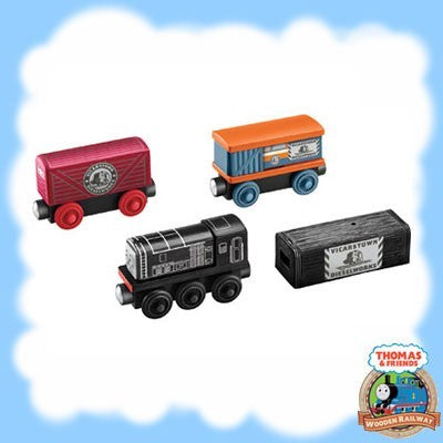Thomas & Friends Wooden DIESELS IN DISGUISE - DFW82