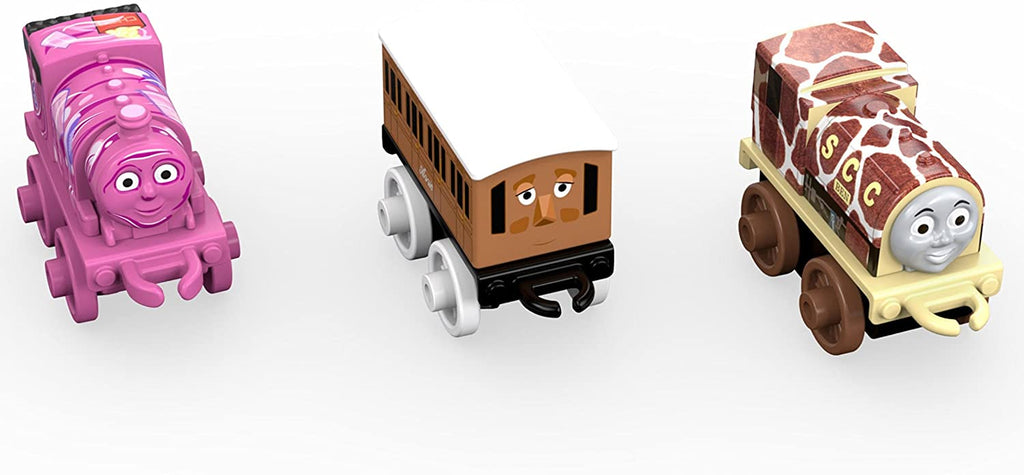 THOMAS & FRIENDS MINIS 3-PACK - BLOB PERCY, CLASSIC ANNIE AND GIRAFFE BEN