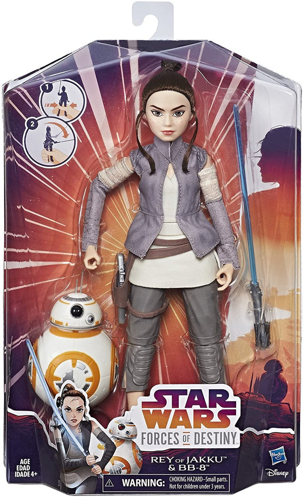Star Wars - Forces of Destiny: Rey of Jakku and BB-8 Adventure Set