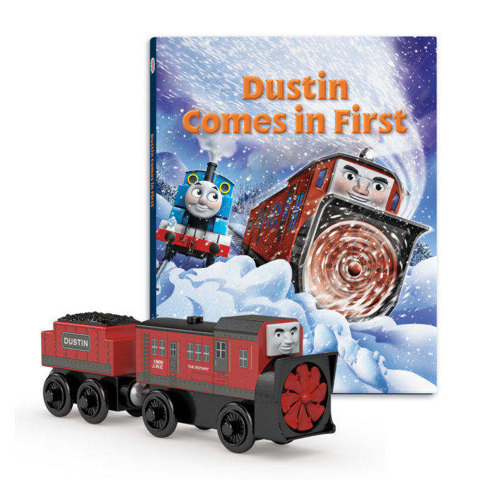 DUSTIN COMES IN FIRST BOOK PACK - DHL40