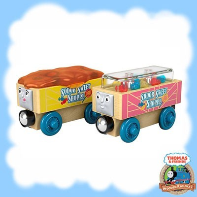 Thomas & Friends Wood CANDY CARS - FHM57
