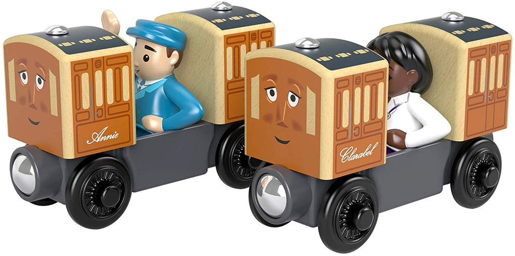 ANNIE AND CLARABEL (WOOD) - FHM58