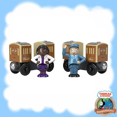 Thomas & Friends Wood ANNIE AND CLARABEL FHM58