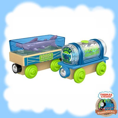 Thomas & Friends Wood AQUARIUM CARS FHM60