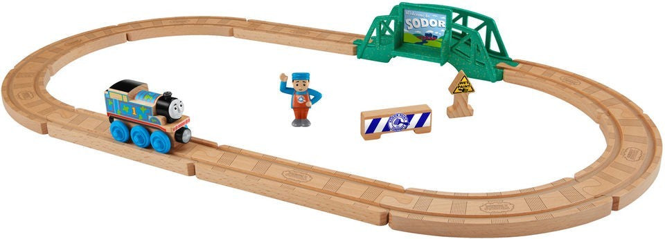 5 IN 1 BUILDER SET (WOOD) - FHM64