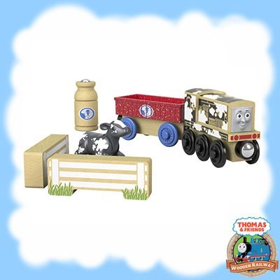 Thomas & Friends Wood DIESEL'S DAIRY DROP-OFF - FHM69