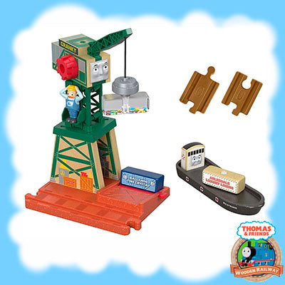 Thomas & Friends Wood CRANKY AT THE DOCKS - FHM72