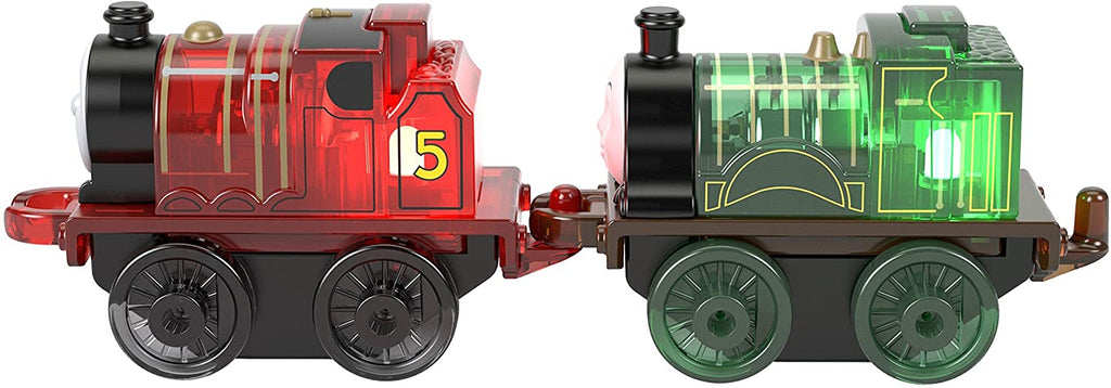THOMAS & FRIENDS MINIS LIGHT-UP 2-PACK - JAMES & EMILY