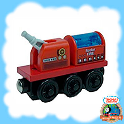 SODOR FIRE BRIGADE TRAIN - NEW UNBOXED