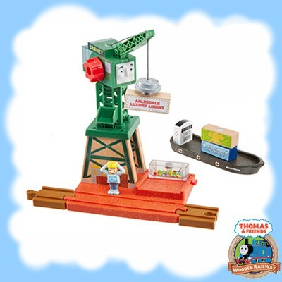Thomas & Friends Wood CRANKY AT THE DOCKS - GGG70