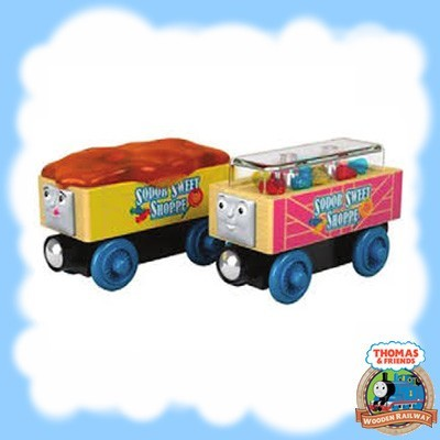 Thomas & Friends Wood CANDY CARS - GGH15