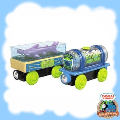 Thomas & Friends Wood AQUARIUM CARS GGH18